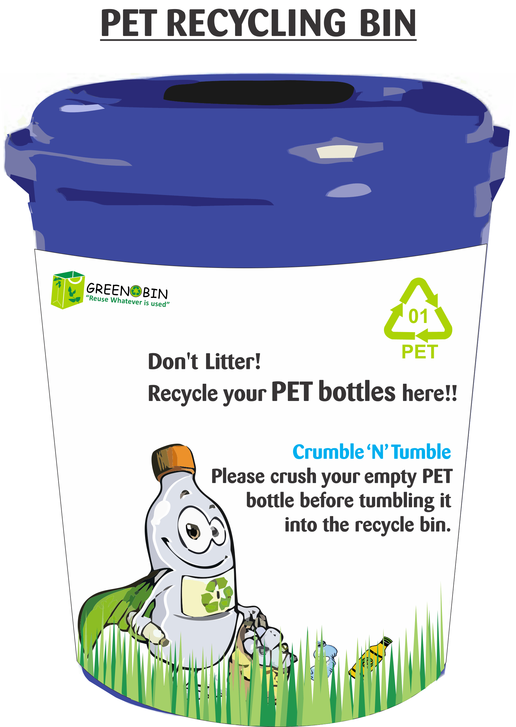 Common Recycling Bin